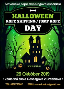 Halloween rope skipping day